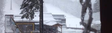 Nevicata in corso sulla Sila!!!!